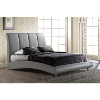 8272 Grey Matte Queen Bed by Global USA
