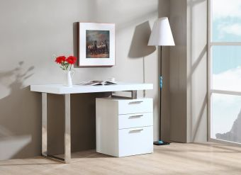 ✅ Vienna Desk In White | VivaSalotti.com | pic1