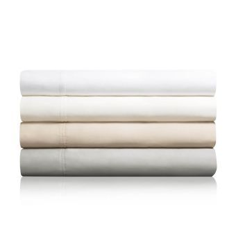 Woven 600TC Cotton Blend Sheet Set, Split King, White
