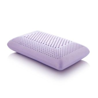 Z Zoned Lavender Pillow with Aromatherapy Spray, King, Mid Loft