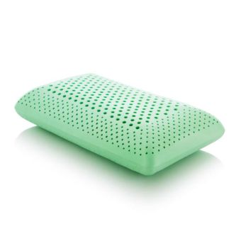 Z Zoned Peppermint Pillow with Aromatherapy Spray, King, Mid Loft