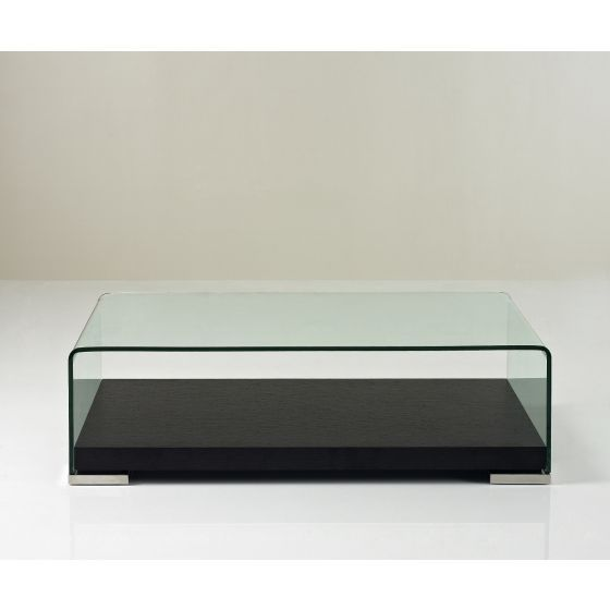 ✅ Modern Coffee Table 159A, Dark Oak/Glass | VivaSalotti.com | pic2