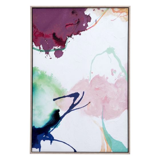 ✅ Abstract Party Canvas Multicolor | VivaSalotti.com | pic