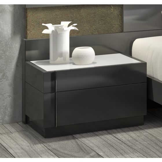 ✅ Braga Left Facing Night Stand | VivaSalotti.com | pic