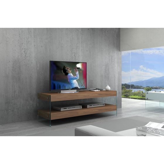 ✅ Elm Mini TV Base, Walnut | VivaSalotti.com | pic2