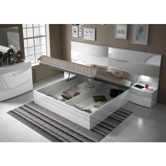 ✅ Cordoba King Size Bed with Storage by ESF | VivaSalotti.com | pic1