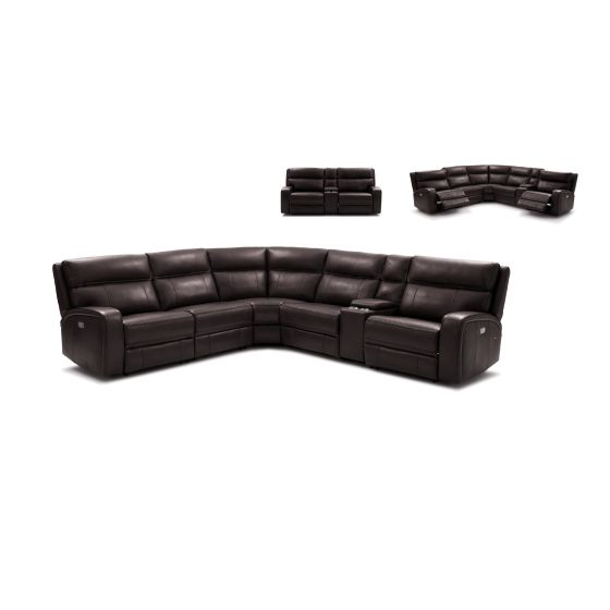 ✅ Cozy Motion Sectional In Chocolate | VivaSalotti.com | pic1