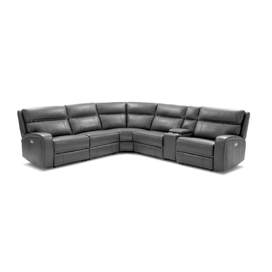 ✅ Cozy Motion Sectional In Grey | VivaSalotti.com | pic6
