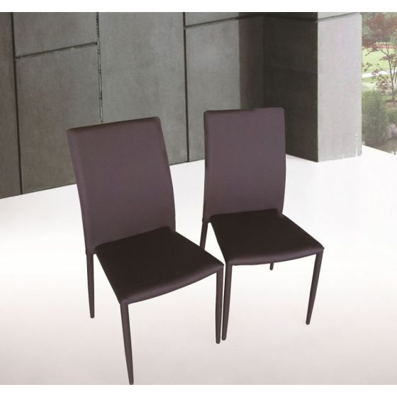 ✅ DC-13 Dining Chair in Brown | VivaSalotti.com | pic1