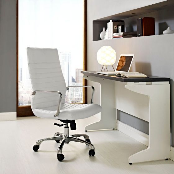 ✅ Finesse Highback Office Chair (White) | VivaSalotti.com | pic