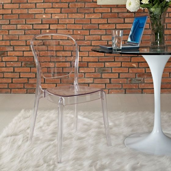 ✅ Entreat Dining Side Chair (Clear) | VivaSalotti.com | pic