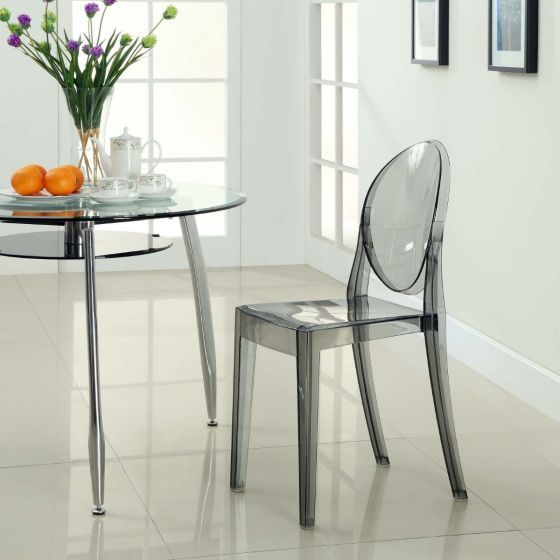 ✅ Casper Dining Side Chair (Smoke) | VivaSalotti.com | pic