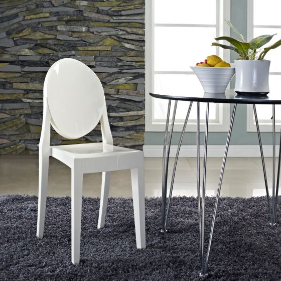 ✅ Casper Dining Side Chair (White) | VivaSalotti.com | pic