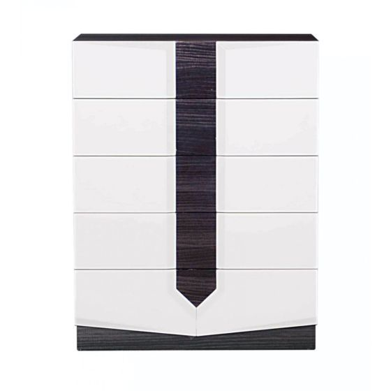 Hudson Chest, Zebra Grey & White HG