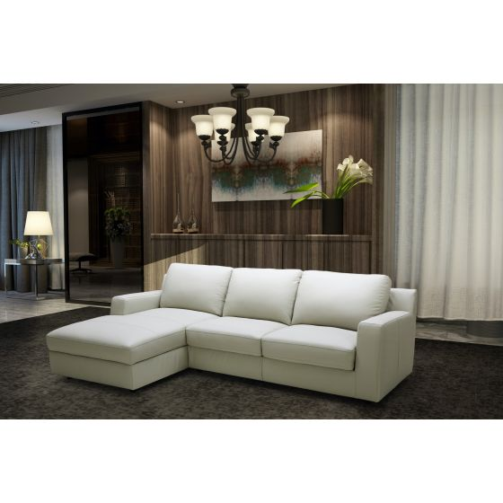 ✅ Lauren Premium Left Hand Facing Sectional Sleeper, Light Grey | VivaSalotti.com | pic2
