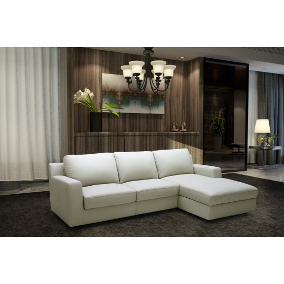 ✅ Lauren Premium Right Hand Facing Sectional Sleeper, Light Grey | VivaSalotti.com | pic2