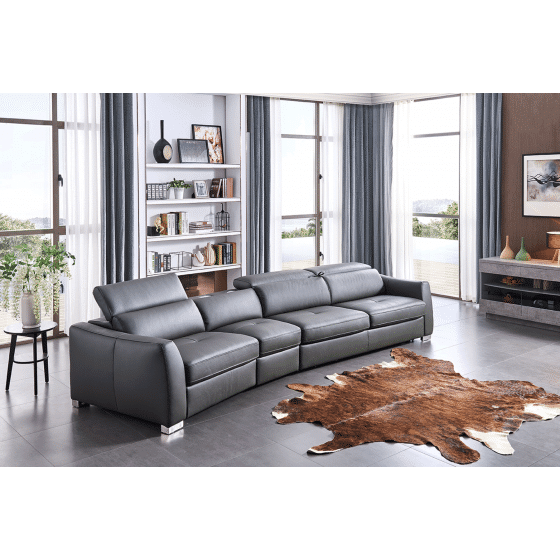 ✅ 312 Left Sectional with Bed and Electric Recliner by ESF | VivaSalotti.com | pic5