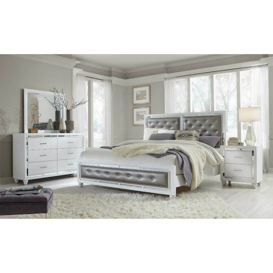 ✅ Mackenzie White Bedroom Set | VivaSalotti.com | pic