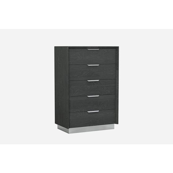 ✅ Monte Leone Wood Veneer Chest, Grey | VivaSalotti.com | pic2