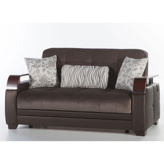 ✅ Natural Love Seat Prestige Brown | VivaSalotti.com | pic5
