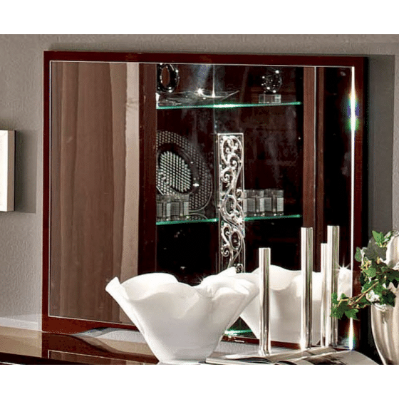 ✅ Roma Buffet Mirror Walnut by ESF | VivaSalotti.com | pic4