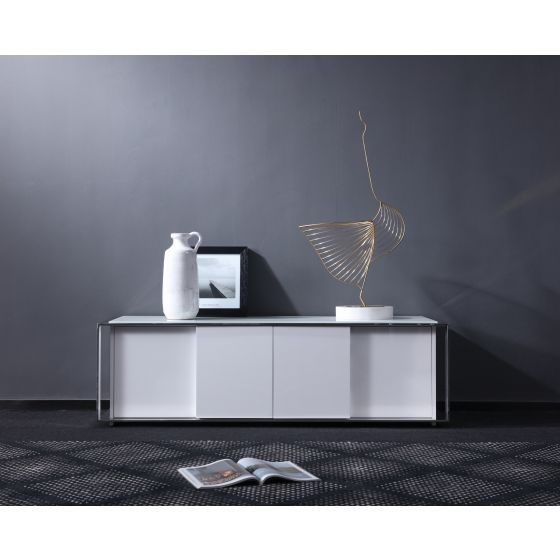 "✅ Star Modern TV Base for TVs up to 62"", White 
