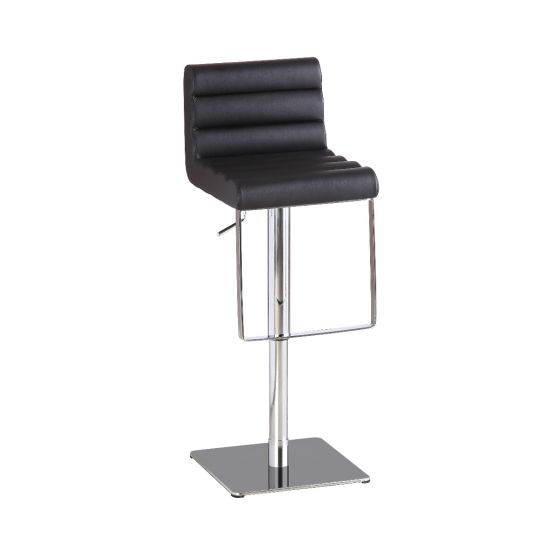 ✅ C192-3 Modern Adjustable Swivel Barstool with Foot Rest, Black | VivaSalotti.com | pic