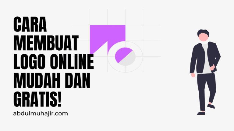 Cara Buat Logo Online Mudah, Gratis dan Tanpa Watermark