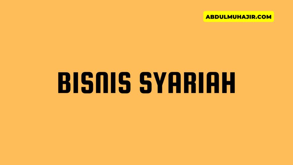Bisnis Investasi Syariah Menguntungkan