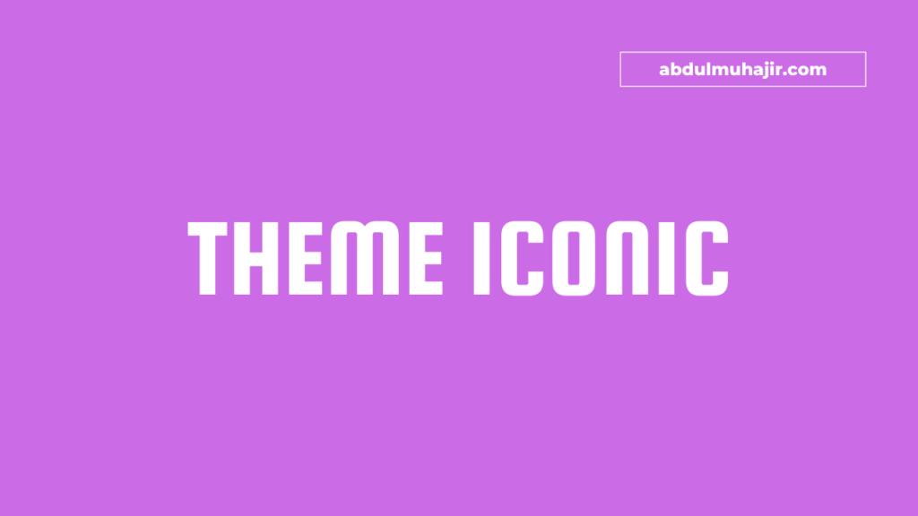 Download theme wordpress gratis iconic one