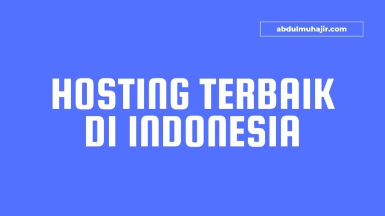 Hosting Terbaik Di Indonesia dengan Harga Yang Terjangkau