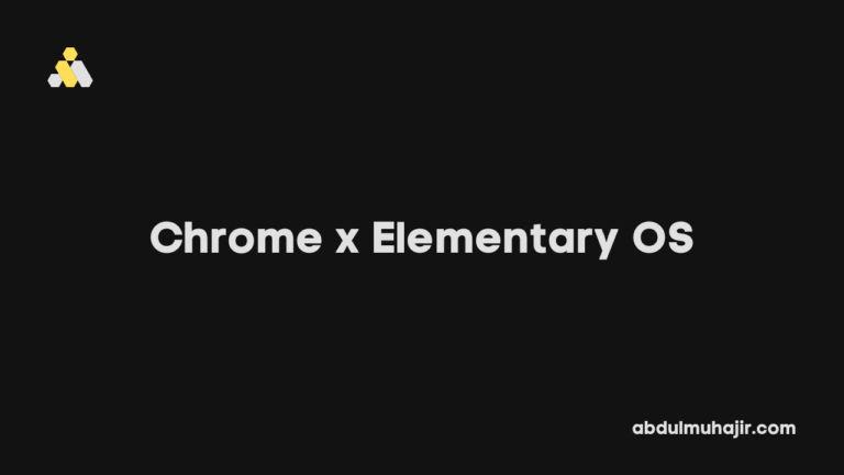2 Cara Install Google Chrome di Elementary OS