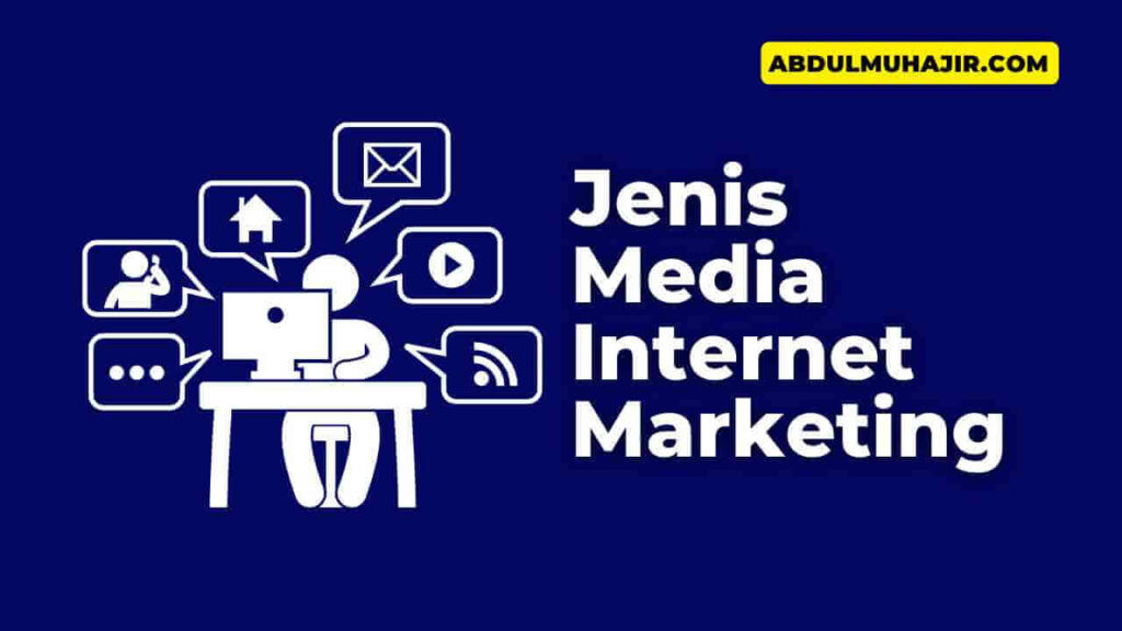jenis media internet marketing