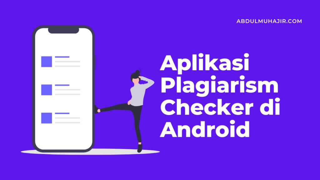 Aplikasi Plagiarism Checker