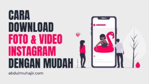 instagram downloader photo dan video
