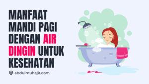manfaat mandi pagi untuk wajah