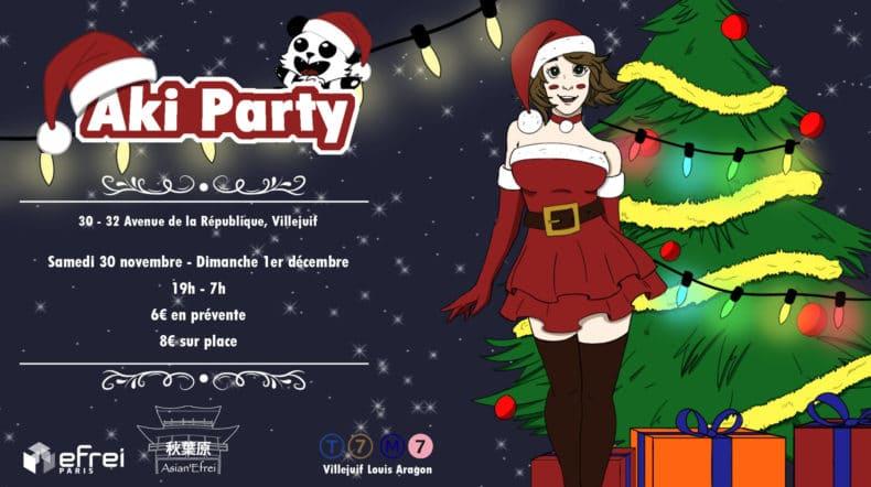 Illustration de l'Aki Party