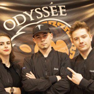 Zoé, Yoann et Jean de Odyssée