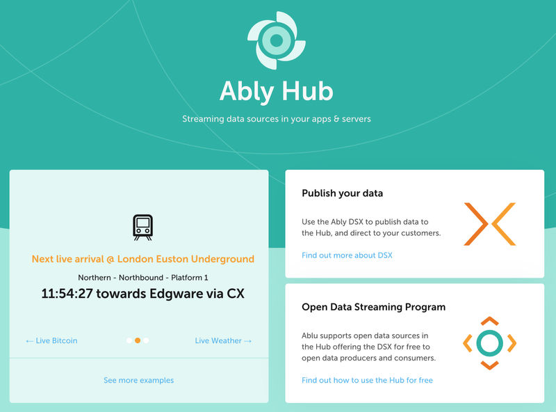 Announcing Ably's Open Data Streaming Program