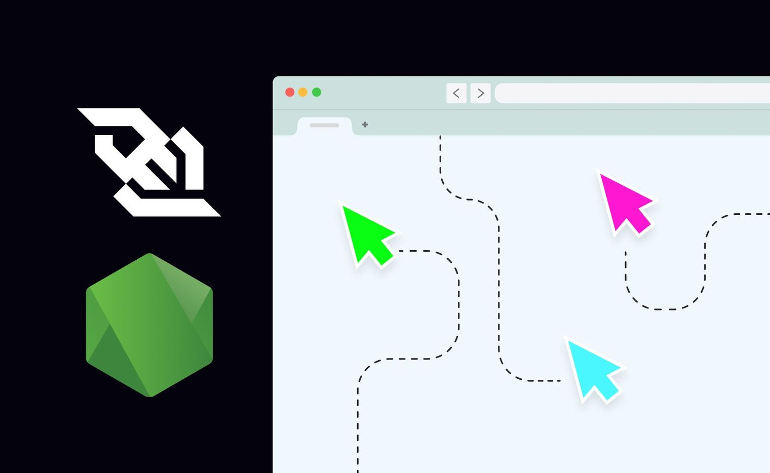 A header graphic showing the WebSockets logo and the node.js logo and a browser with cursors moving around it
