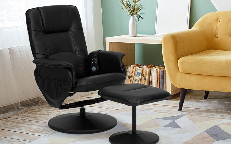 recliner massaging chair with multi position