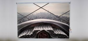 Empire State building Roller Shade