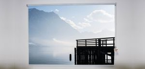 Lake Traunsee Austria Roller Shade