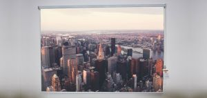 New York city sky view Roller Shade