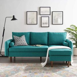 Modway Revive Sofas, Teal