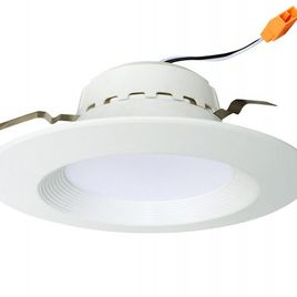 Euri Lighting 13W (75W Equivalent) 4inch LED Retrofit Recessed Lighting Fixture, ENERGY STAR Certified  LED Ceiling Light, UL-classified Dimmable LED Retrofit Downlight kit - 3000K Soft White Glow, DLC4-1000E (Pack of 1/2/4/6/8)