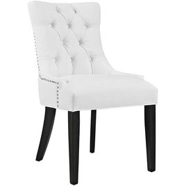 Modway Regent Modern Elegant Button-Tufted Upholstered Vinyl Dining Side Chair With Nailhead Trim