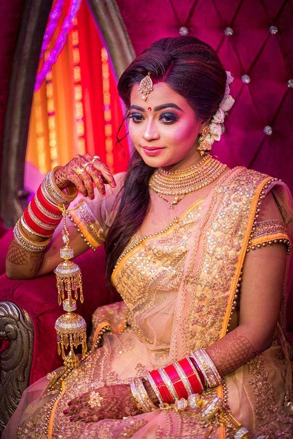 Reception Look Bridal makeup look