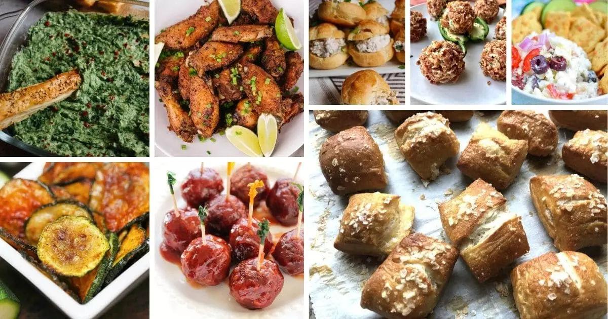 Appetizers wedding food