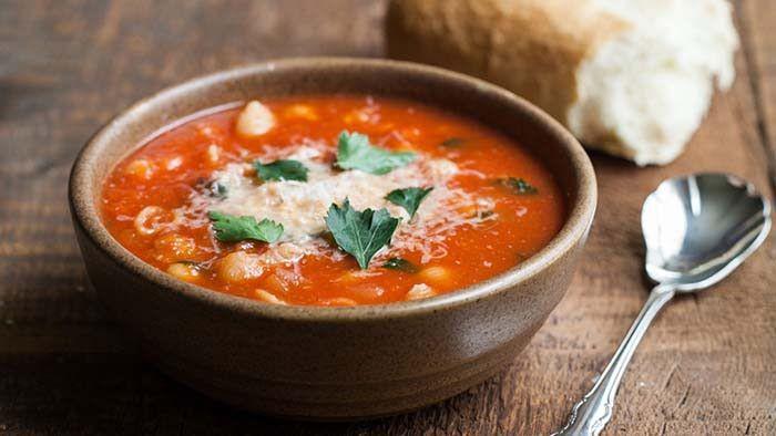 Soup wedding food